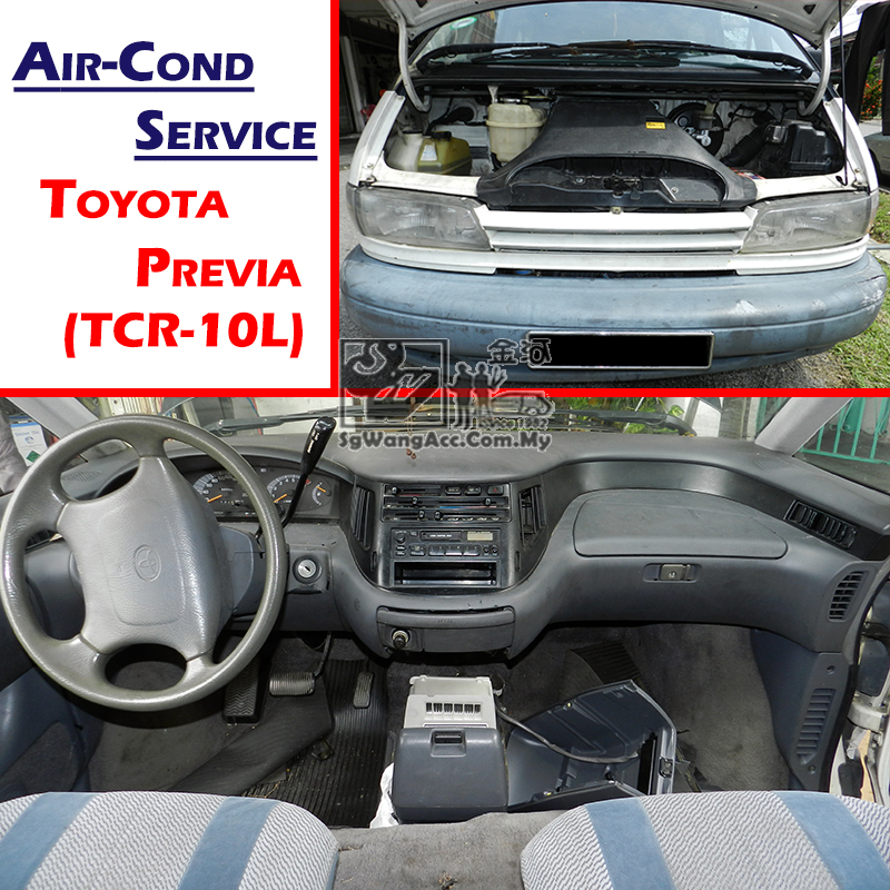 Toyota Previa (TCR-10L) Full Air Cond Service