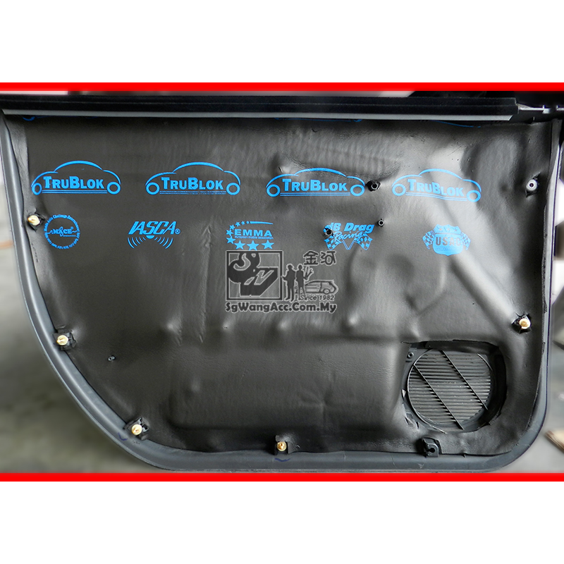 Apply Sound Proof on Car Door & Plastic Panel