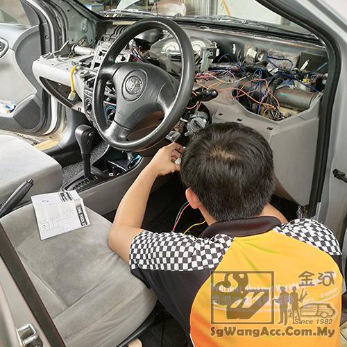 WTS]Keyless Entry + Push Start Car Alarm Security