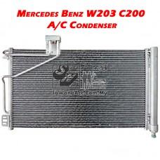 Mercedes-Benz C-Class W203 C200 Kompressor Air Cond Condenser