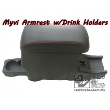 Armrest with Drink Holder - Perodua Alza (Manual)