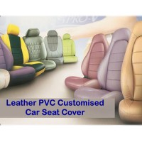 Leather PVC Customised Car Seat Cover - Saloon Car