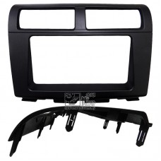 Double Din (2Din) Player Casing Panel - Perodua Myvi 2012 (Black)