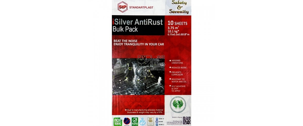STP iSilver Antirust Sound Proof & Vibration Solution