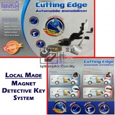 TwinsLock Brake Pedal Lock with Magnet Detective Key System (Local) - Custom Made