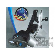 Brake Pedal Twin Lock with Magnet Detective Key System
